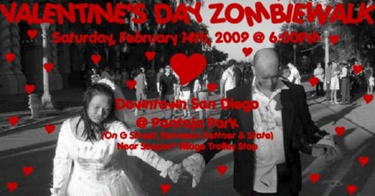 Valentine's Day ZombieWalk