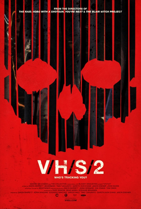 vhs2 poster - There's No Safe Haven for this New V/H/S/2 One-Sheet