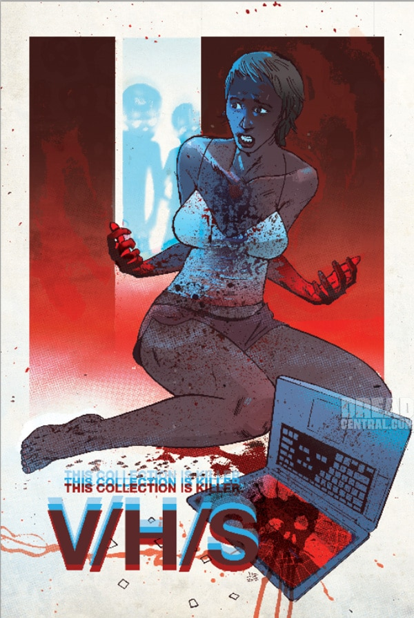 vhx - Exclusive Comic Style V/H/S Poster