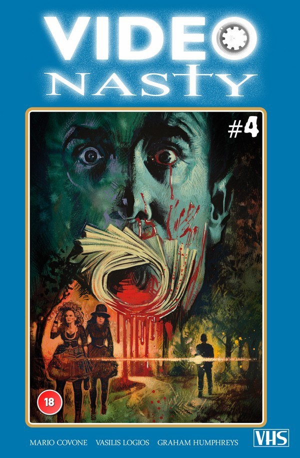 Issue #1 of Reaper Comics' New Release Video Nasty Now Available