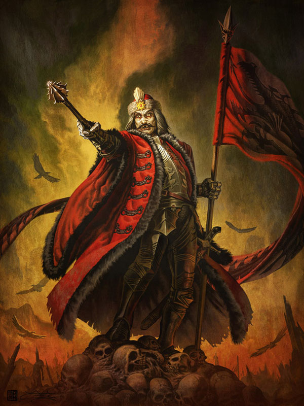 vlad 1 - Dracula's Grave Has Been Found and Researchers Plan to Open It. Bad Plan!