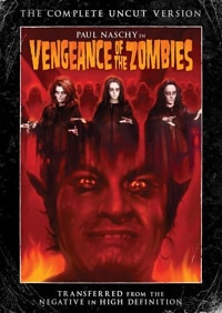 Vengeance of the Zombies DVD (click for larger image)