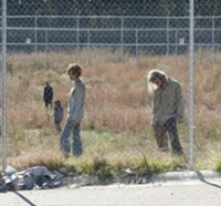 Go Behind the Scenes and Inside the Making of The Walking Dead Episode 3.15 - This Sorrowful Life