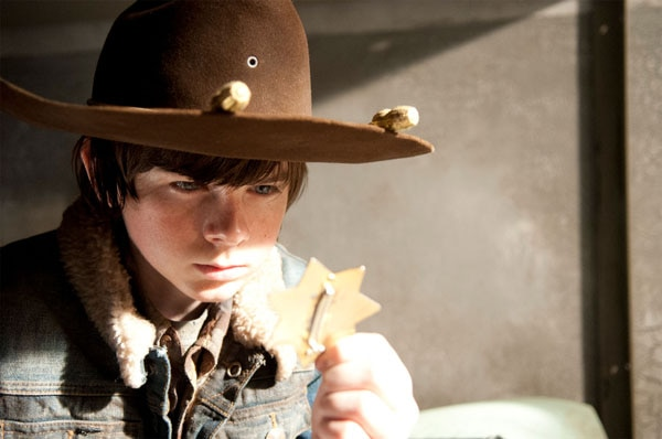 The Walking Dead: Recap of Episode 3.16 - Welcome to the Tombs - Carl