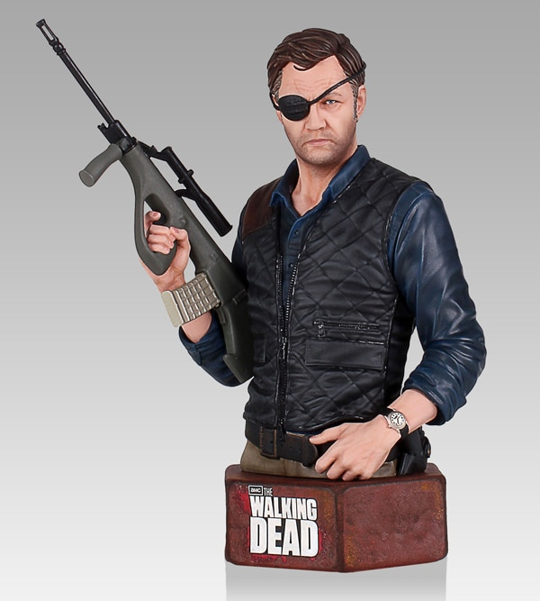 Gentle Giant Announces The Walking Dead Governor Mini Bust