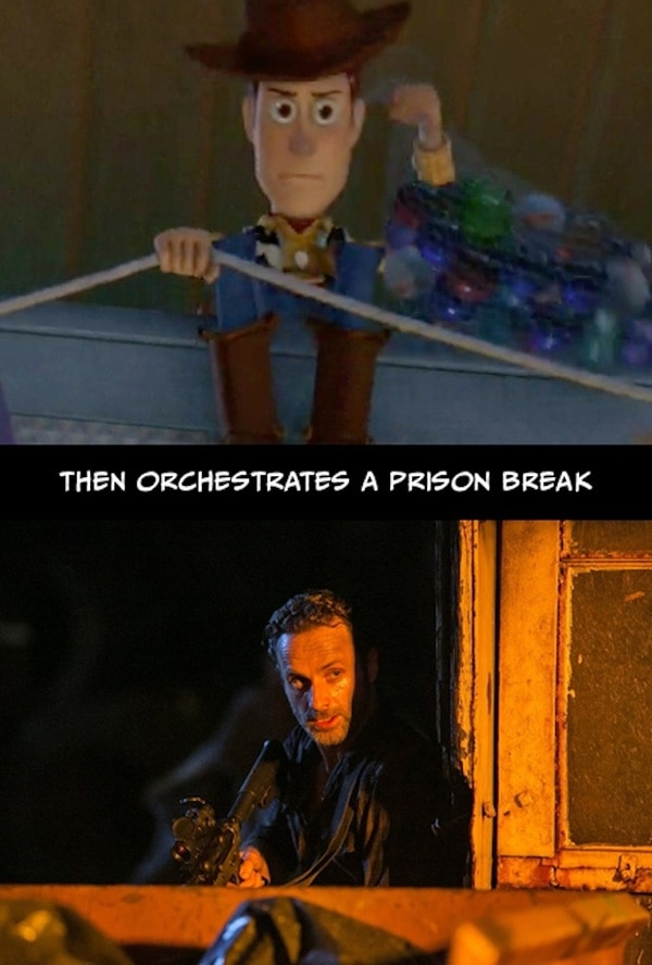 The Stunning Parallels Between The Walking Dead and Toy Story! MUST SEE!