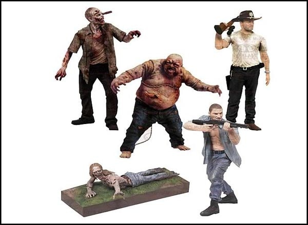 Get Another Look at McFarlane's Next Walking Dead Figures