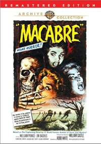 Macabre on DVD