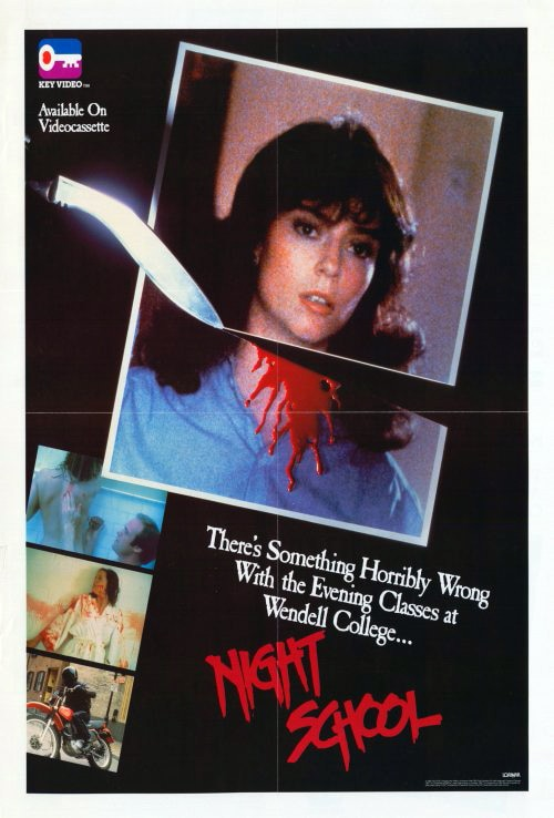 The Warner Archive Delivering Two Eighties Slashers: Night School and Killer Party