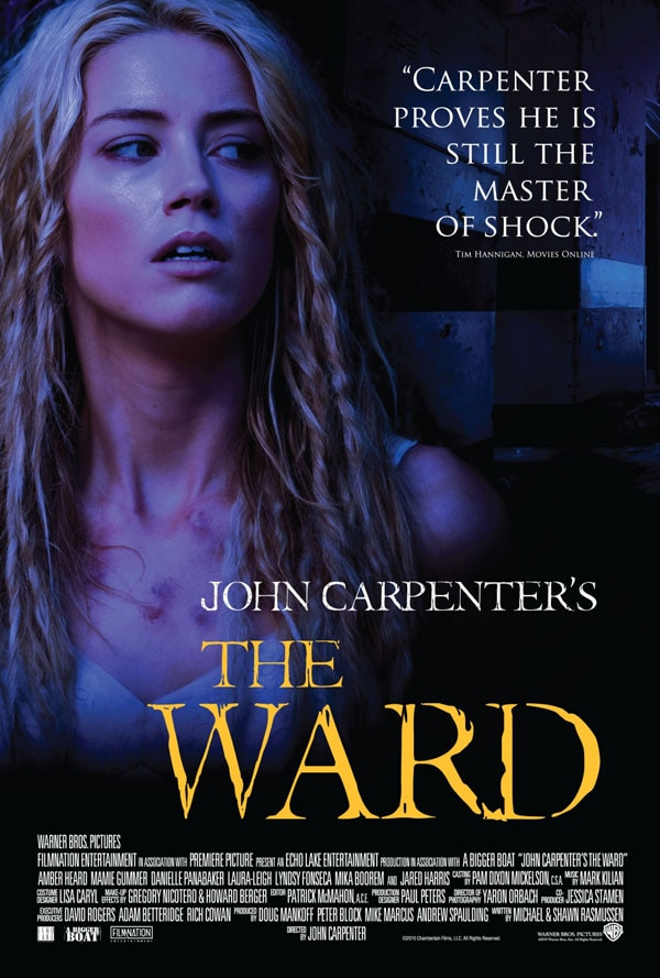 A Quartet of New Images: John Carpenter's The Ward