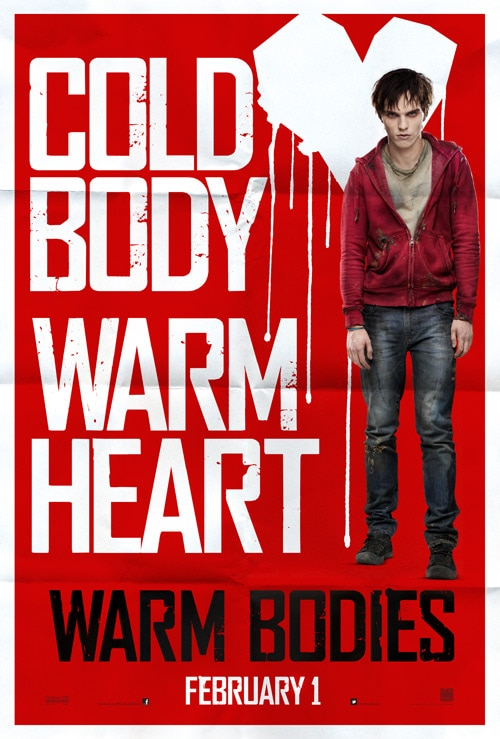 Ready to Snuggle with the Dead? Check Out the New Teaser Poster for Warm Bodies