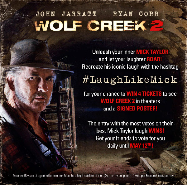 wc2 - Wolf Creek 2 Officially Begins Production