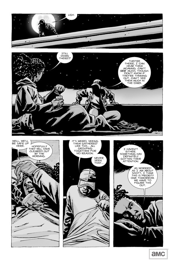 Sneak Preview of The Walking Dead Comic Book Issue 75