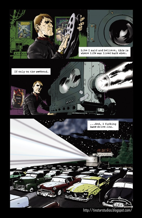 When Drive-Ins Attack: Midnight Special (click for larger image)