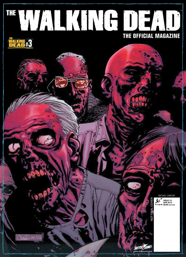 wdmag3alt - Alternative Artwork and More Details on Issue #3 of The Walking Dead, The Official Magazine