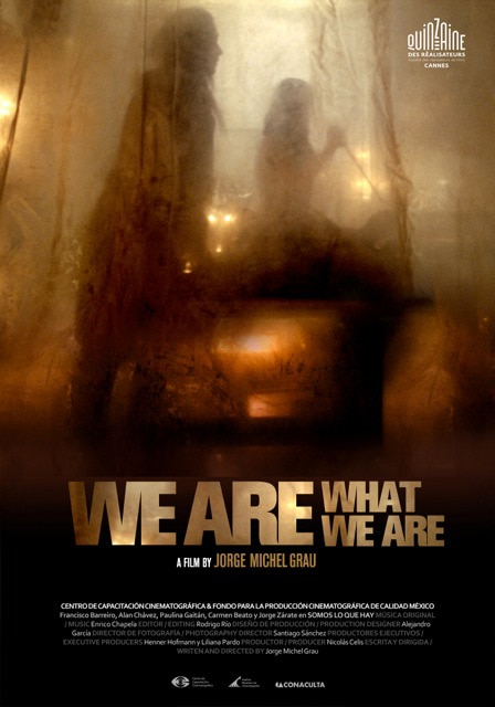 weare - Sundance 2013: Poster Served Up for We Are What We Are