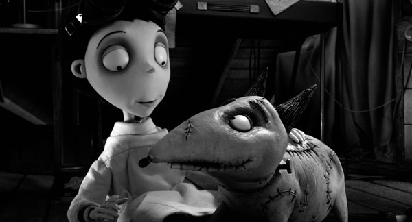 The Frankenweenie Trailer Sparks to Life