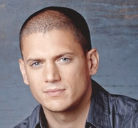Wentworth Miller Tries to Scare Me