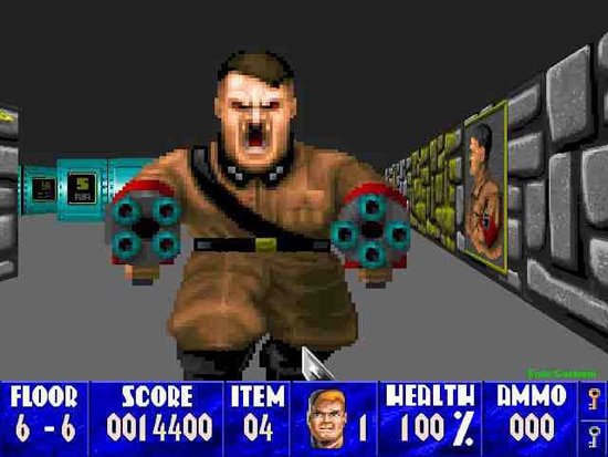 Wolfenstein 3D: Wanna Kill Some Nazis?