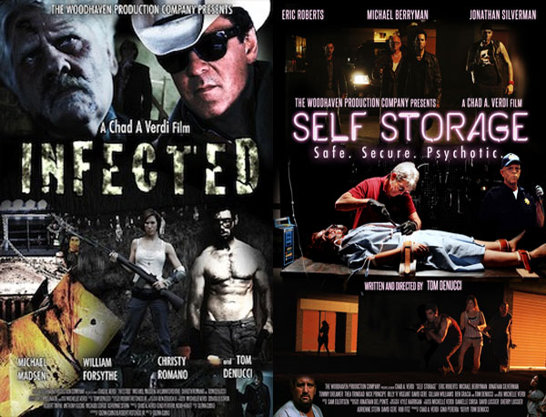 Woodhaven Productions Films Infected and Self-Storage Acquired by Screen Media Films for Distro