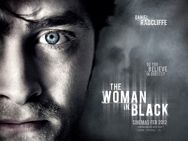 New Quad One-Sheet for The Woman in Black Stares Over Your Shoulder