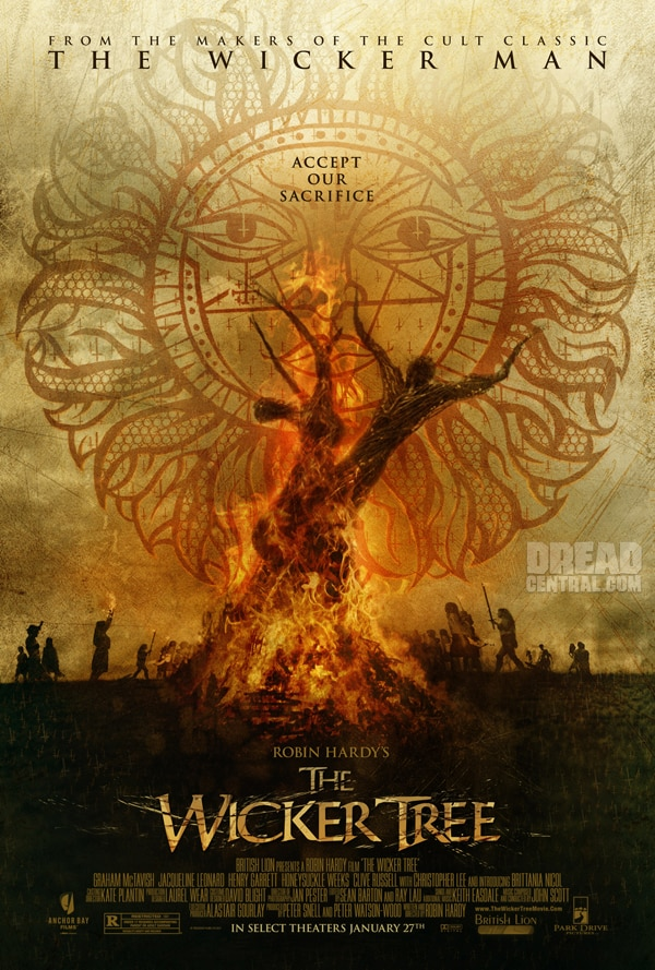 Exclusive One-Sheet Debut: The Wicker Tree