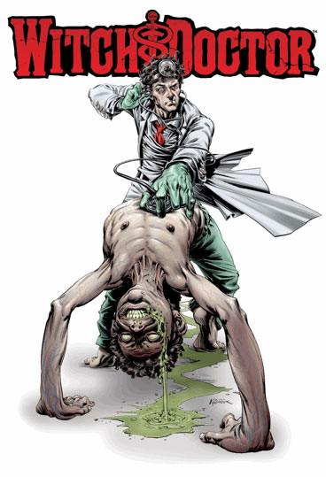 Cover Art and More Details on Robert Kirkman's Witch Doctor
