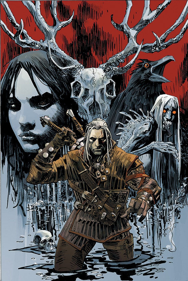 New York Comic Con 2013: Dark Horse Announces New Series Bad Blood and The Witcher Video Game Tie-In