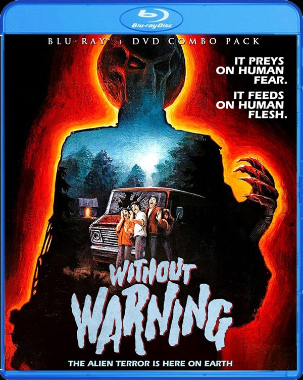 without warning blu ray - Scream Factory Brings Without Warning to Home Video for the Very First Time