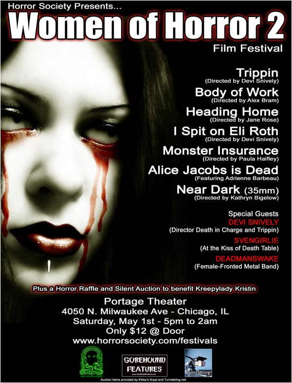 Chicago's Women of Horror 2 Film Festival Details