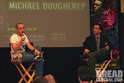 Mike Dougherty and Timpone at the Weekend of Horrors!