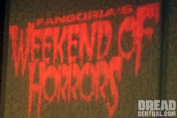 Weekend of Horrors report!