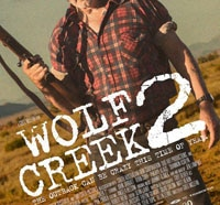 wolf creek 2 s - Wolf Creek 2 Splatting Roos on Home Video