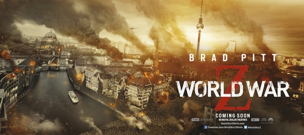 world war z banner 1 - Two More World War Z Banners Bring Destruction and Chaos; Video Game Demo!