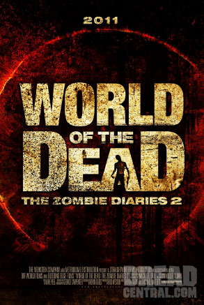 Teaser One-Sheet Debut - World of the Dead: The Zombie Diaries 2