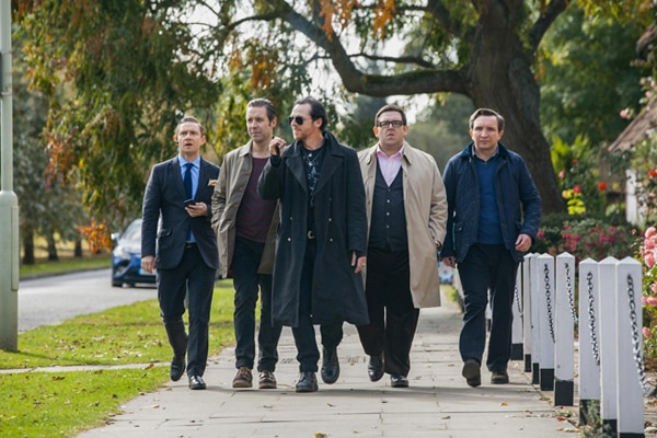 The Posse Saddles Up in New Still from The World's End