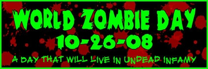 WORLD ZOMBIE DAY!!!