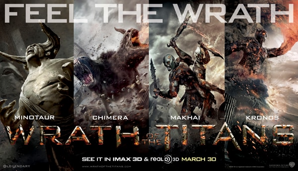 New Wrath of the Titans Character Banner Features the Beasts! (click for larger image)