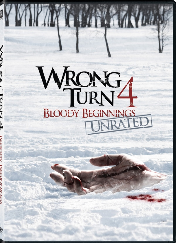 Wrong Turn 4 - Win a Signed Poster and Copy of the DVD