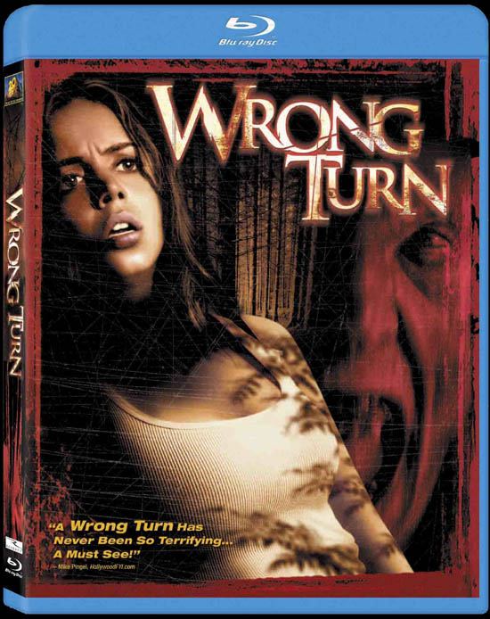 Massive Wrong Turn Trilogy Blu-ray Contest