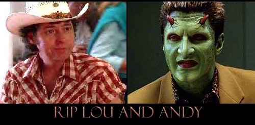RIP Andy Hallett and Lou Perryman