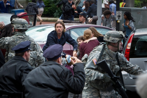 First Official Still from World War Z; Pee-wee Herman Voices Trailer