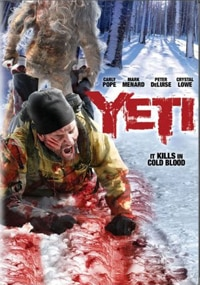 Yeti on DVD (click for larger image)