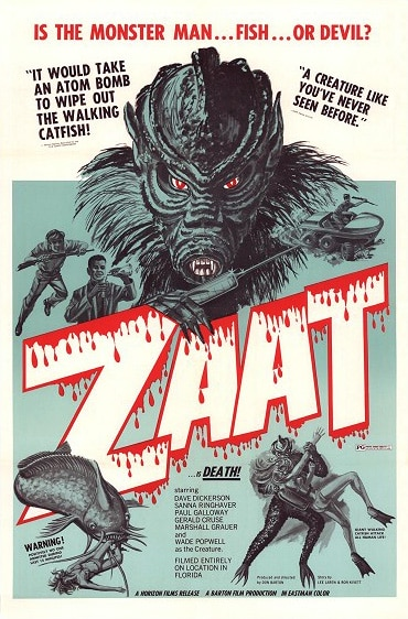40 Year Old Cult Catfish-Man Movie Zaat Spawning Blu-ray and a Sequel