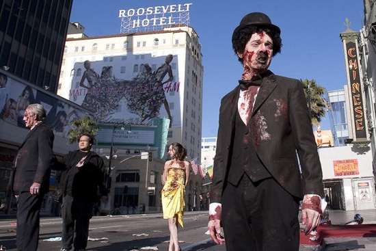 Zombies Take Hollywood in Zombieland