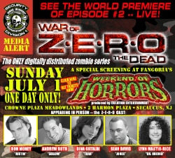Episode 2 of War of the Dead: Z•E•R•O (click for larger image)