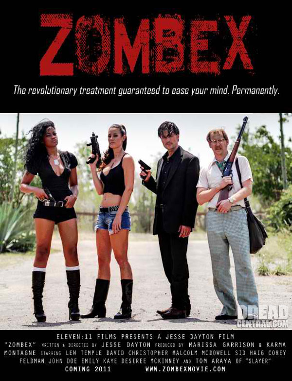 Exclusive Zombex One-Sheet Premiere; Actor Lew Temple Talks!