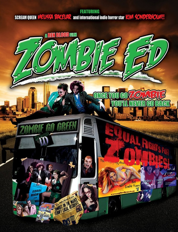 Site, Stills, and Art for Zombie Ed
