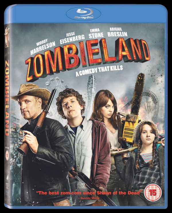 Zombieland Takes Over UK DVD and Blu-ray on March 15th