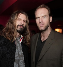 Rob Zombie and Tyler Mane